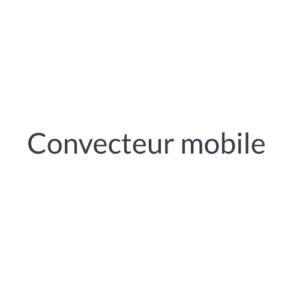 Radiateur convecteur mobile