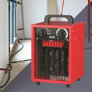 Varma, Radiateur électrique chantier